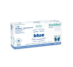 MaiMed®-nitril blue puderfrei